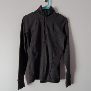 Lululemon Gray Half Zip Jacket Size 8